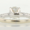 1.0 ct. Round Cut Bridal Set Ring #4