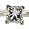 1.52 ct. Princess Cut Solitaire Ring #4