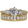 0.78 ct. Round Cut Bridal Set Ring, G, VS2 #3