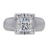 2.02 ct. Princess Cut Solitaire Ring, I, SI2 #2