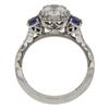 1.01 ct. Round Cut Bridal Set Tacori Ring, H, VS2 #4