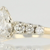 0.87 ct. Pear Cut Ring #1