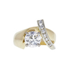1.23 ct. Round Cut Solitaire Ring, H, SI2 #3