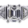 1.04 ct. Emerald Cut Bridal Set Ring #2