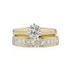 0.51 ct. Round Cut Bridal Set Ring, H, SI2 #3