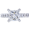 1.90 ct. Princess Cut Solitaire Ring, F, VS1 #1