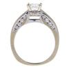 0.95 ct. Princess Cut Solitaire Ring, F-G, VS2 #2