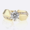 1.04 ct. Round Cut Solitaire Ring #1