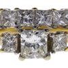 0.98 ct. Princess Cut Bridal Set Ring, H-I, VS2 #1