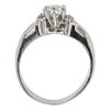0.59 ct. Round Cut Bridal Set Ring, G, VS2 #4
