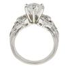 1.25 ct. Round Cut Bridal Set Ring, F, VS1 #4