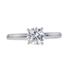 0.95 ct. Round Modified Brilliant Cut Solitaire Ring, I, SI2 #3