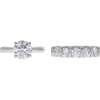 2.0 ct. Round Cut Bridal Set Ring, G, I2 #3