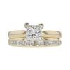 1.03 ct. Princess Cut Bridal Set Ring, L, VS1 #3