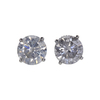 1.20 ct. Round Cut Stud Earrings, G-H, I3 #2