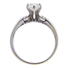 1.01 ct. Pear Cut Bridal Set Ring, F, I1 #3