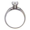 1.01 ct. Pear Cut Bridal Set Ring, F, I1 #3