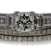 1.82 ct. Radiant Cut Bridal Set Ring #4