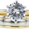 1.8 ct. Round Cut Bridal Set Ring, L, VS2 #4