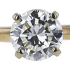 1.11 ct. Round Cut Solitaire Ring, J, SI1 #1