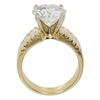 4.03 ct. Round Cut Solitaire Ring, I, I1 #4