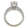 0.78 ct. Round Cut Bridal Set Ring, D, SI2 #4