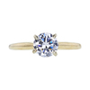 0.73 ct. Round Cut Solitaire Ring, E, SI2 #3
