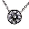 1.01 ct. Round Cut Pendant Necklace #2