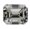 1.05 ct. Emerald Cut Bridal Set Ring #2