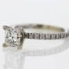 1.29 ct. Princess Cut Solitaire Ring #2