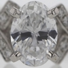 .90 ct. Oval Cut Solitaire Ring #2
