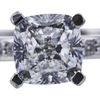 1.06 ct. Cushion Cut Solitaire Ring, D, VS2 #4