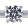 1.00 ct. Round Cut Bridal Set Ring, F, SI2 #4