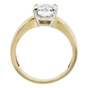 2.46 ct. Radiant Cut Solitaire Ring, H, SI1 #2