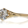 1.45 ct. Old Mine Cut Solitaire Ring #4