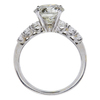 3.04 ct. Round Cut Solitaire Ring, L, I2 #3