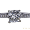 1.01 ct. Cushion Cut Solitaire Ring, H, I1 #2