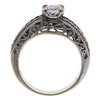 0.66 ct. Princess Cut Bridal Set Ring, F-G, VS2 #3