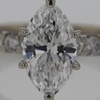 2.19 ct. Marquise Cut Solitaire Ring #3