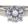 1.25 ct. Round Cut Bridal Set Ring, H, SI2 #4