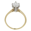 1.0 ct. Marquise Cut Bridal Set Ring, G, I1 #4