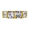 Antique Old European Cut 3 Stone (Uniform) Ring, I-J, VS1-VS2 #2