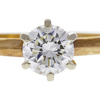 1.01 ct. Round Cut Bridal Set Ring, K, VS1 #3