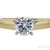 1.01 ct. Round Cut Solitaire Ring, H, VS2 #4