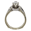 1.05 ct. Marquise Cut Bridal Set Ring, G-H, I1 #2