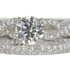1.02 ct. Round Cut Bridal Set Ring #2