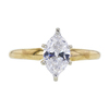 0.91 ct. Marquise Cut Solitaire Ring, G, VVS1 #3