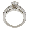 0.8 ct. Round Cut Solitaire Ring, H-I, SI2 #1