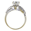 0.90 ct. Round Cut Solitaire Ring, G, SI2 #3