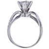 0.76 ct. Princess Cut Solitaire Ring, F, VS1 #3